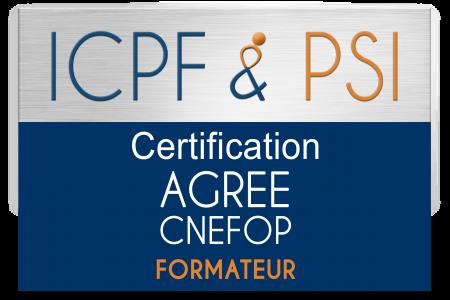 Logo ICPF & PSI Agree CNEFOP Formateur